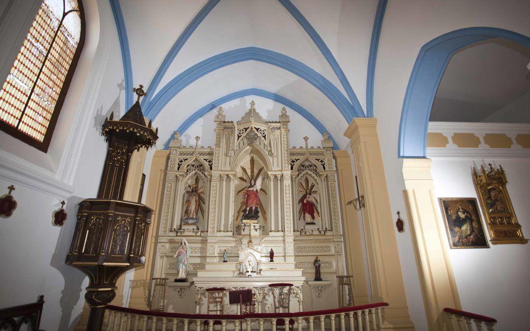 Ermita de San Miguel y Barrio de la Estación