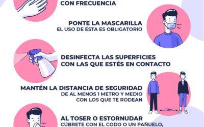 El Ayuntamiento pide la colaboración de los vecinos para atajar la pandemia