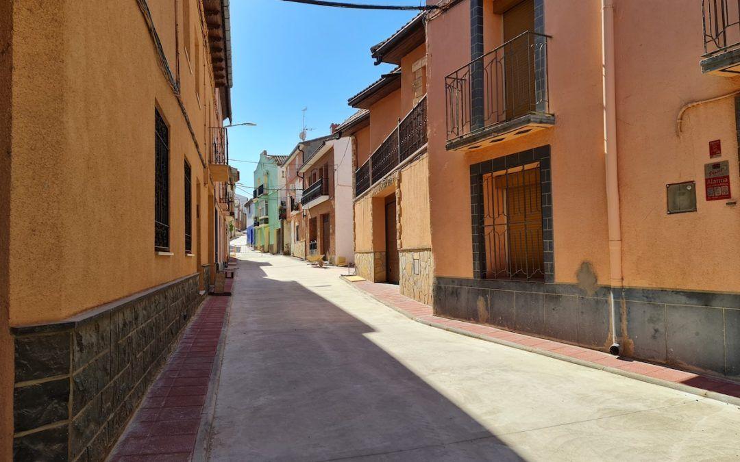 Culminan diversas obras de mejora en las calles de Morata