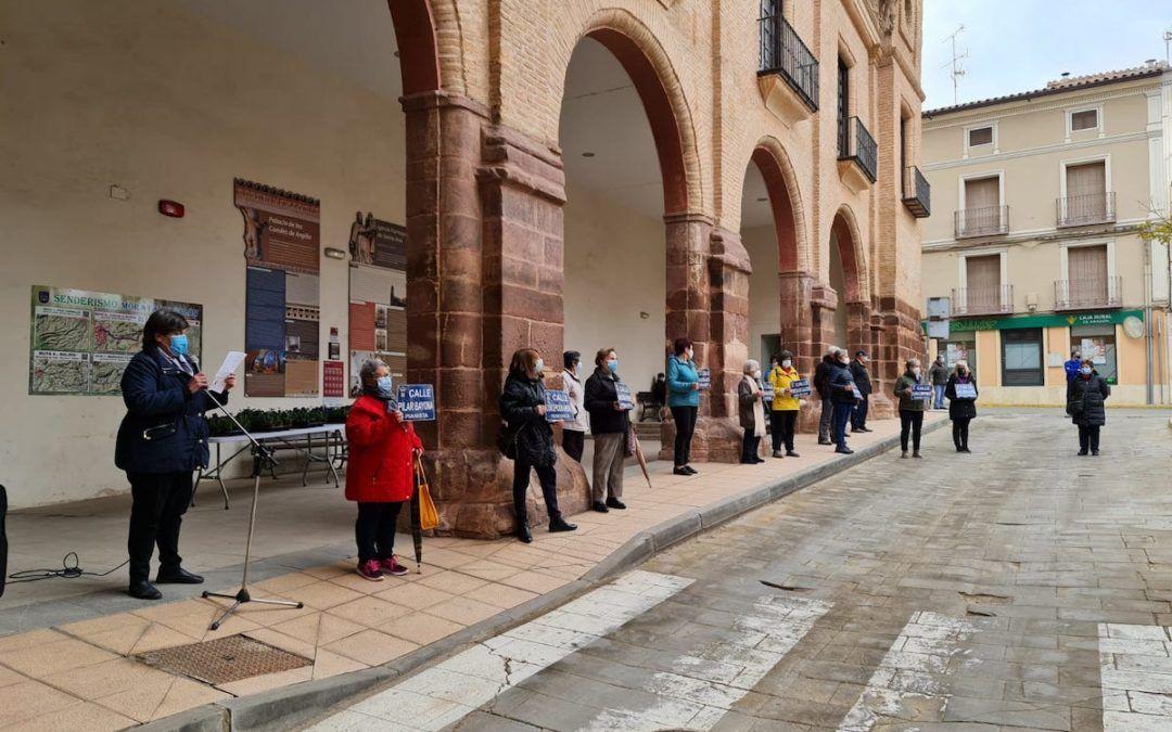 Concentración en Morata por el día de la Mujer
