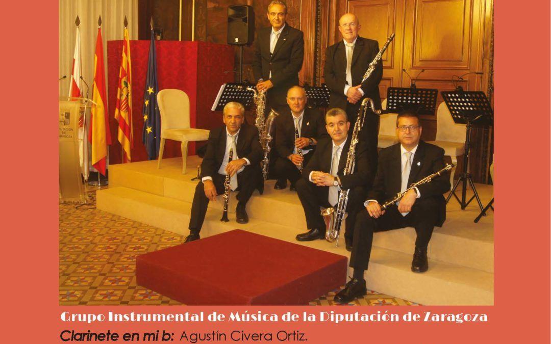 El grupo instrumental de la Diputación de Zaragoza ofrece este viernes, 23 de abril, un concierto virtual con motivo del Día de Aragón