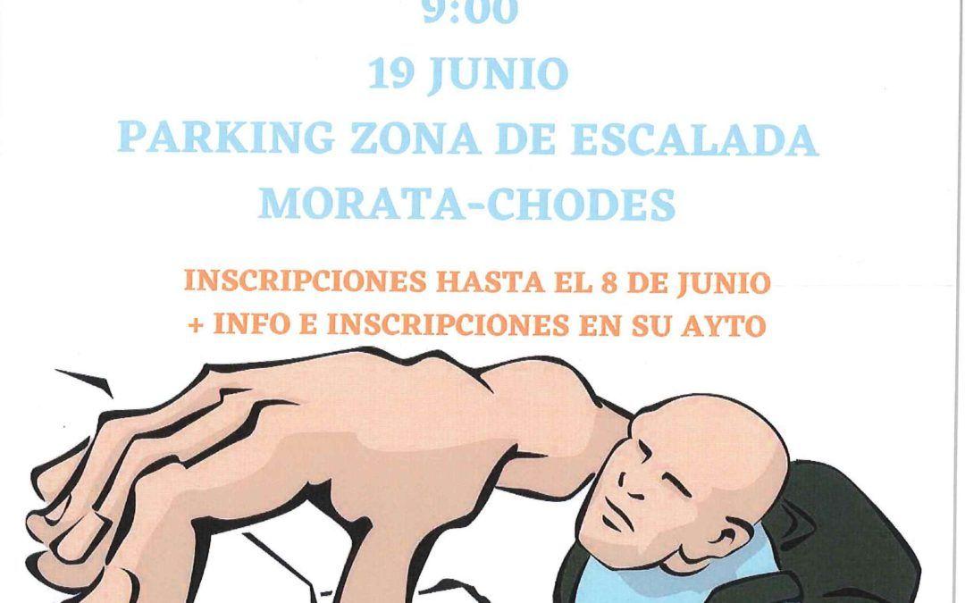 Curso de escalada para niños entre 6 y 14 años el sábado 19 de junio en las paredes de Morata y Chodes