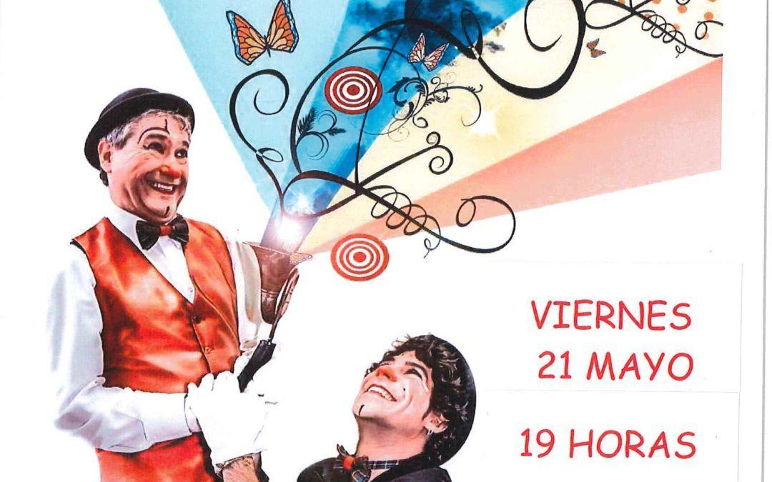"""Actuación """"Fábrica de sueños"""" el próximo viernes día 21 de mayo a partir de las 19 horas en el Centro Cívico"""