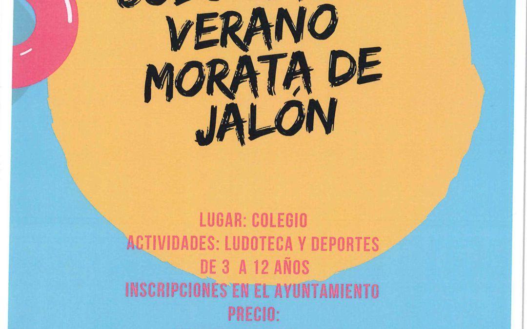 Colonias de verano en Morata de Jalón