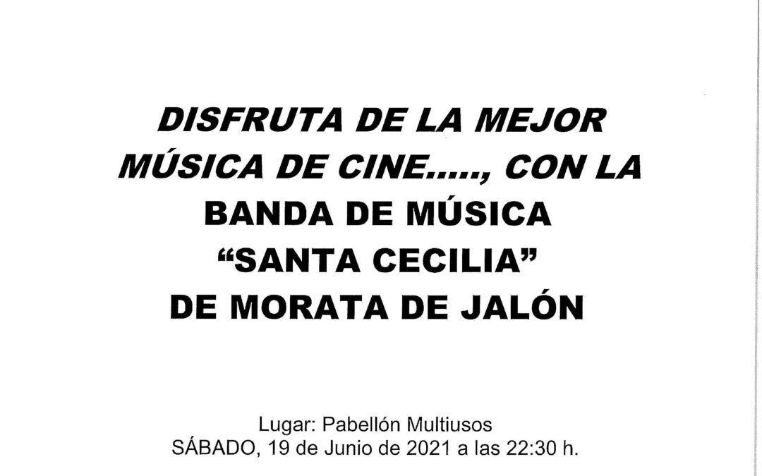 """Concierto de """"Bandas Sonoras"""" a cargo de la Banda de Música Santa Cecilia"""