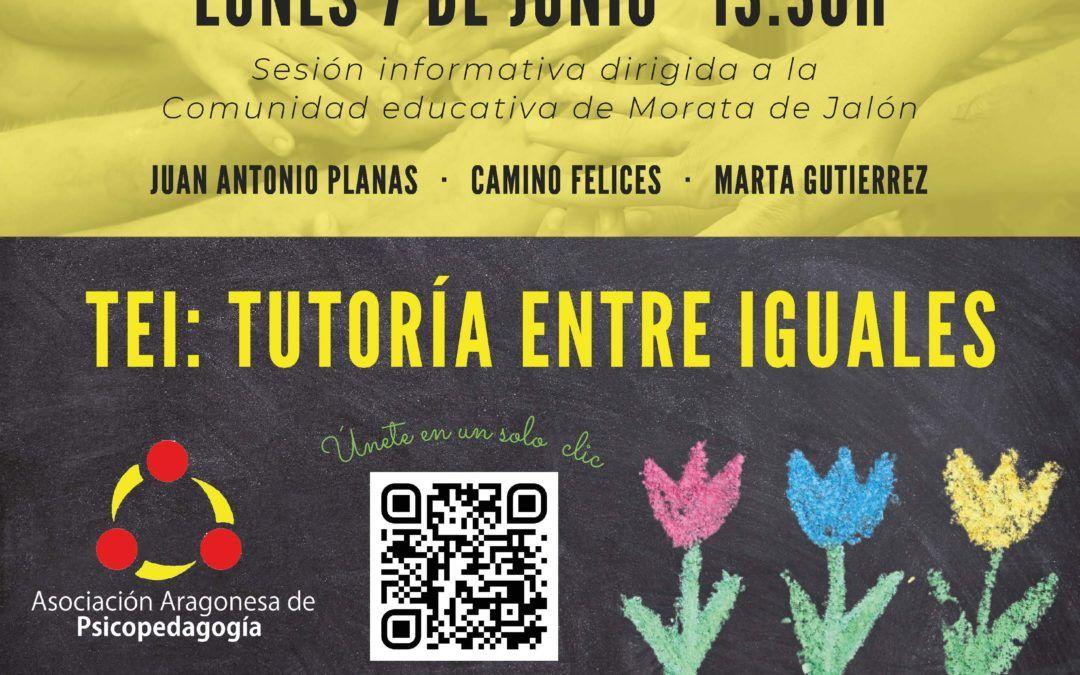 Sesión informativa online dirigida a la Comunidad Educativa de Morata de Jalón