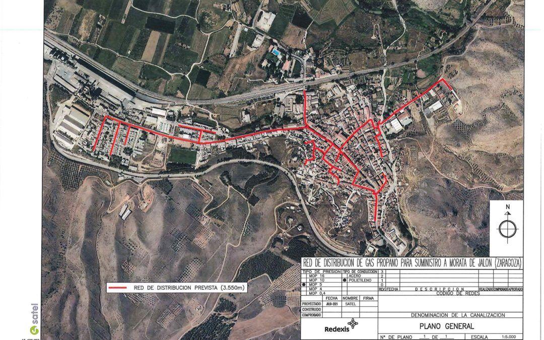 Reunión informativa sobre la instalación de gas en Morata