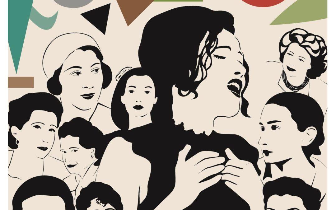 """Actuación de Sheila Blanco """"Cantando a las poetas del 27″"""