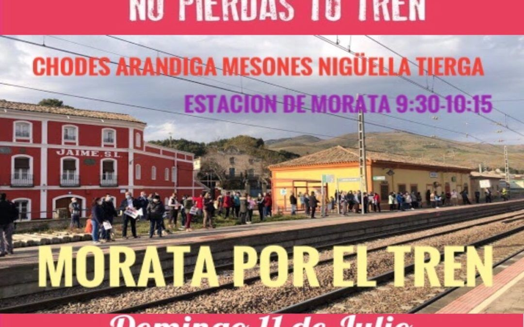 Nueva protesta en defensa de nuestros trenes