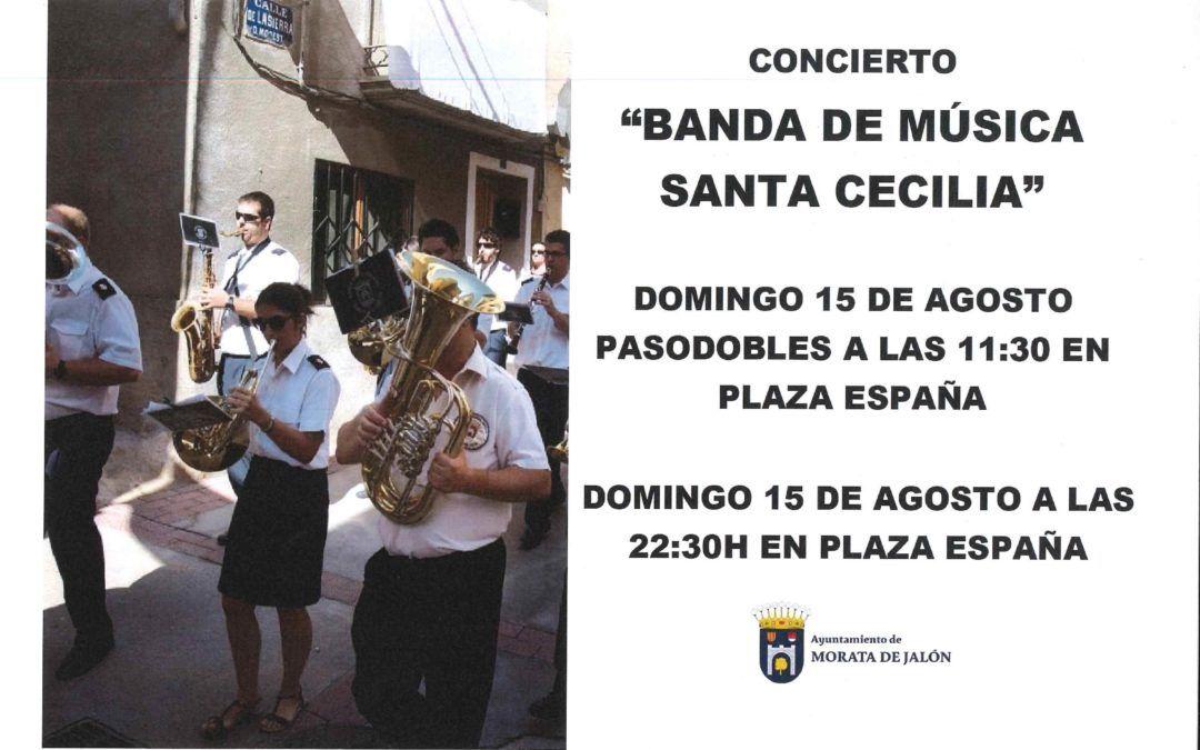 """Concierto de la Banda de Música """"Santa Cecilia"""""""