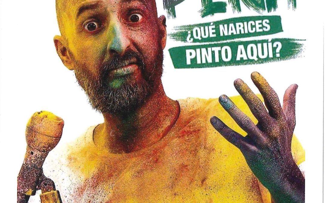 "Monólogo de Diego Peña ""¿Qué narices pinto aquí"""